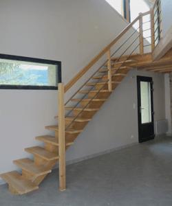 menuisier artisan ébéniste fabricant poseur escalier en bois menuiserie desgranges