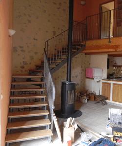 menuisier poseur fabricant escalier en bois menuiserie desgranges