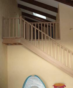 menuisier artisan ébéniste fabricant escalier en bois menuiserie desgranges