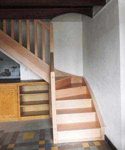 menuisier ébéniste fabricant escalier en bois menuiserie desgranges
