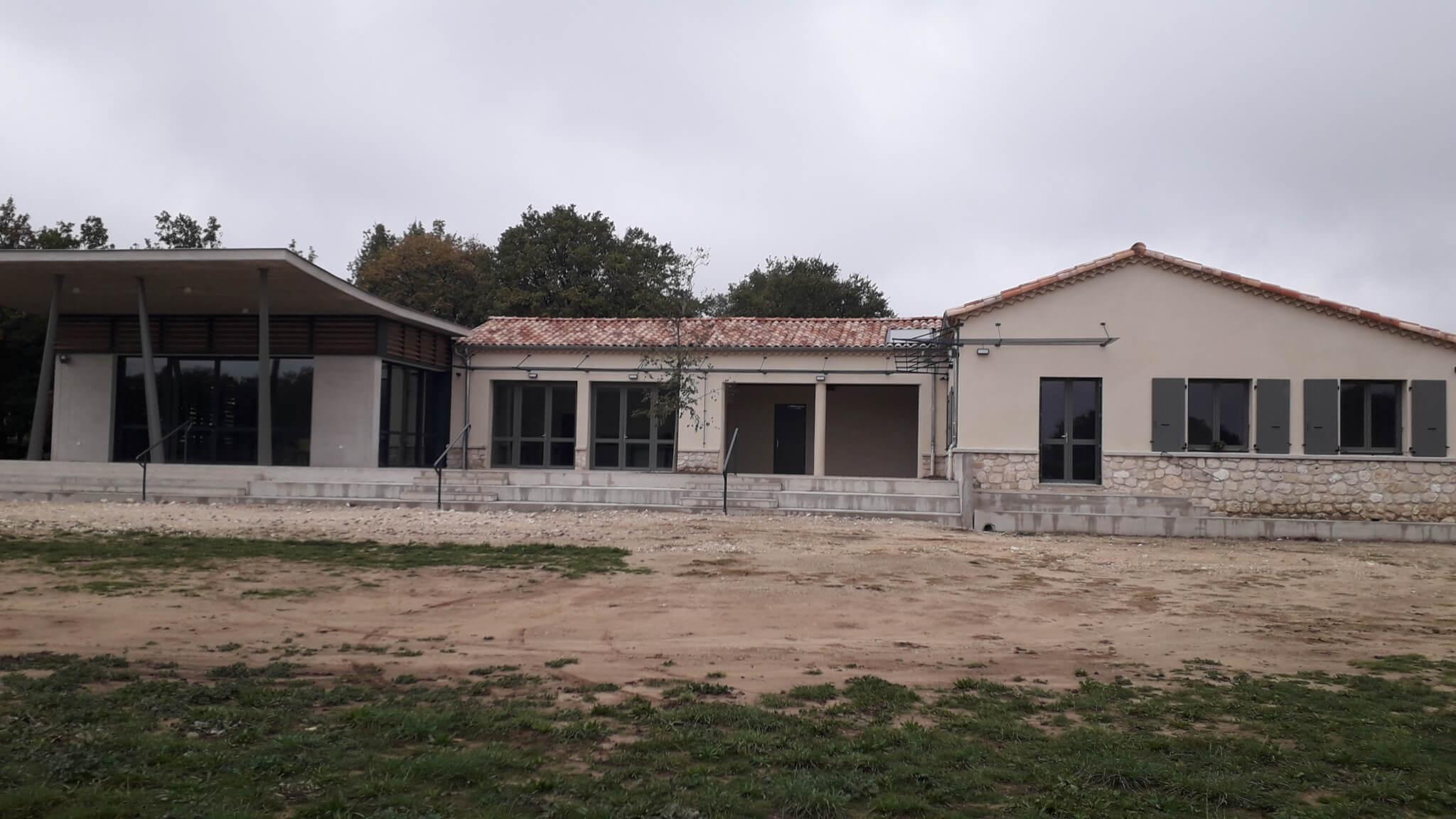 Fenêtres et volets école Bourg-Lès-Valence