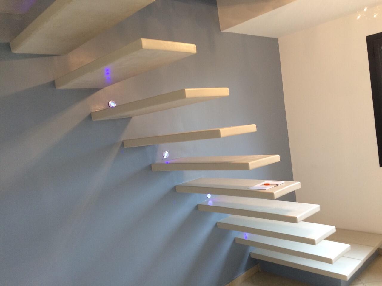 Escalier suspendu Corenc