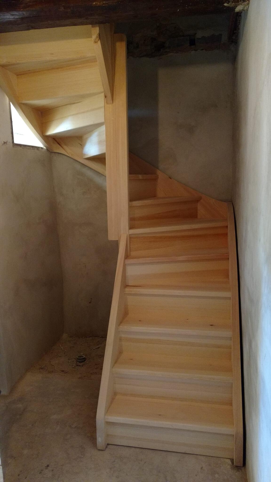 Escalier tour Voiron