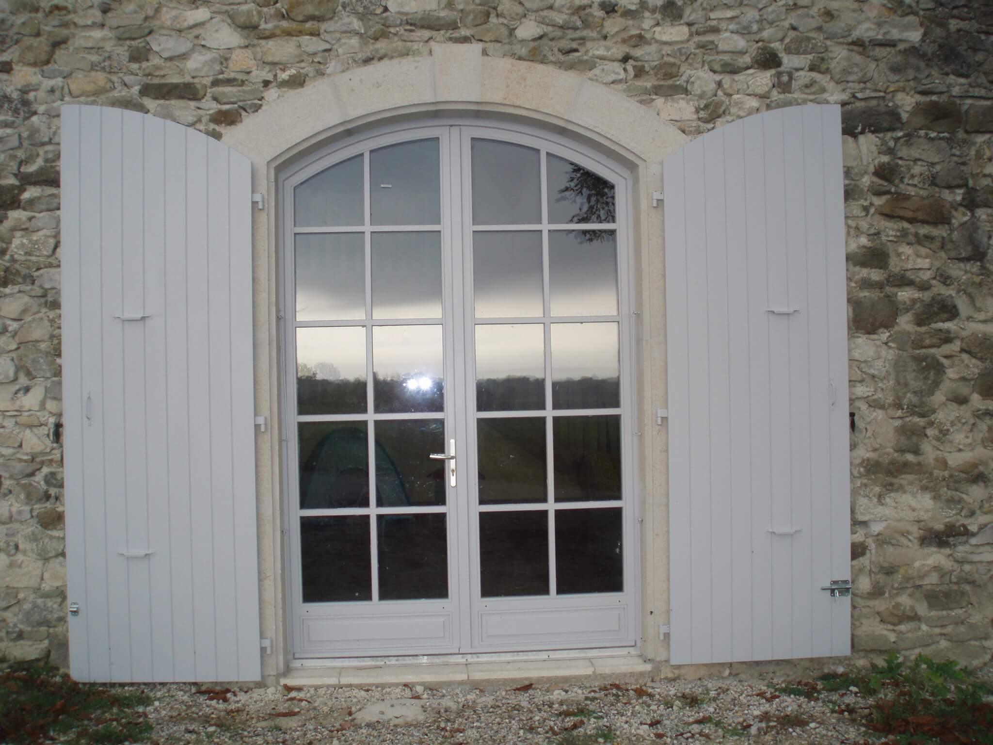 Volets porte fenêtre Crolles