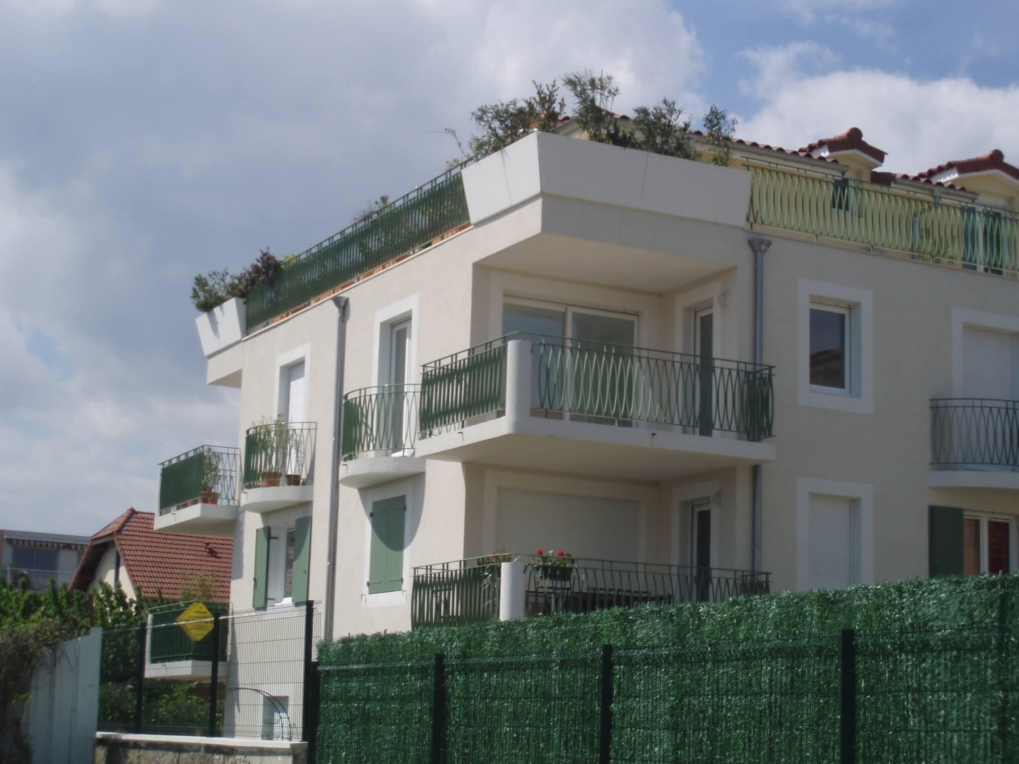 Volets facade Montélimar